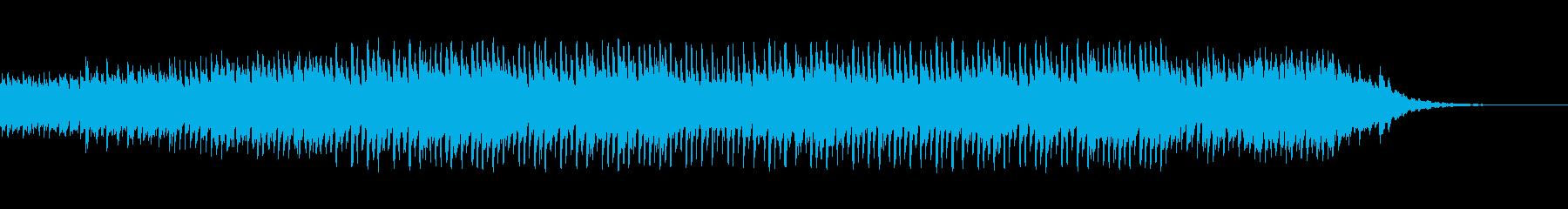 なめらかでシリアスな雰囲気のメロディーの再生済みの波形