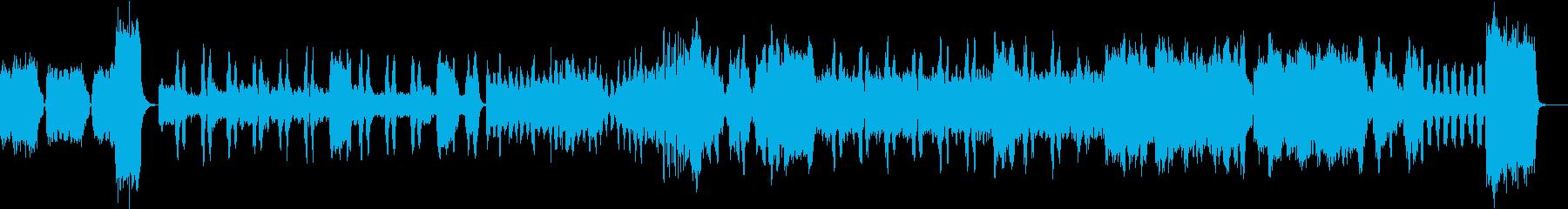グノー ファウスト 第二曲 黄金の杯の再生済みの波形