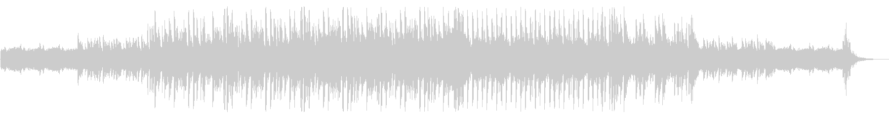 シンセとピアノのEDMの未再生の波形