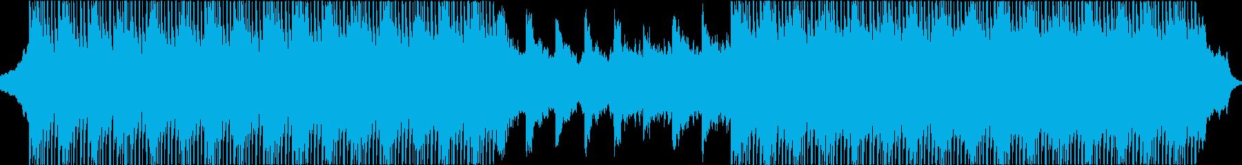 インスピレーションあふれるハイテクミューの再生済みの波形