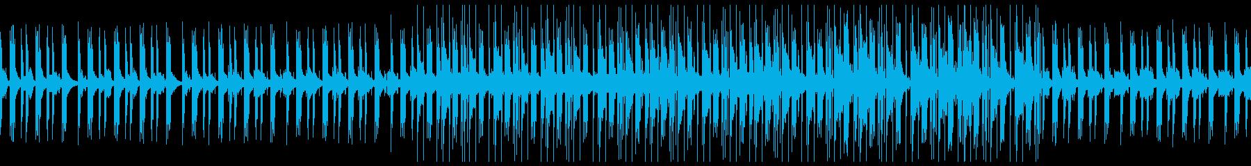 幻想的なLofi Hiphopの再生済みの波形