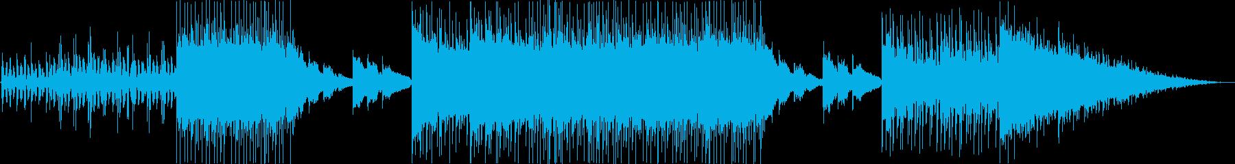 クールでミステリアスなエレクトロニカの再生済みの波形