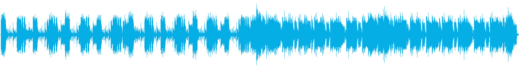eSportsサイバーロックバンド60秒の再生済みの波形