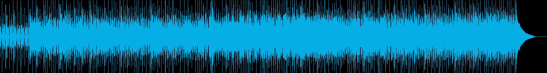 アジアンテイスト溢れる哀愁ディスコの再生済みの波形