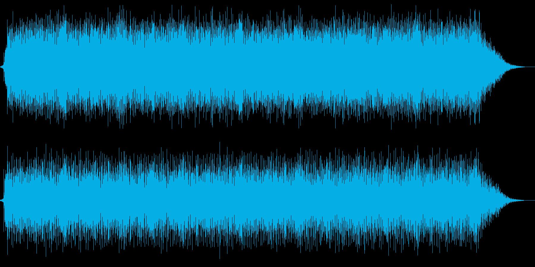 トランス調BGMの再生済みの波形