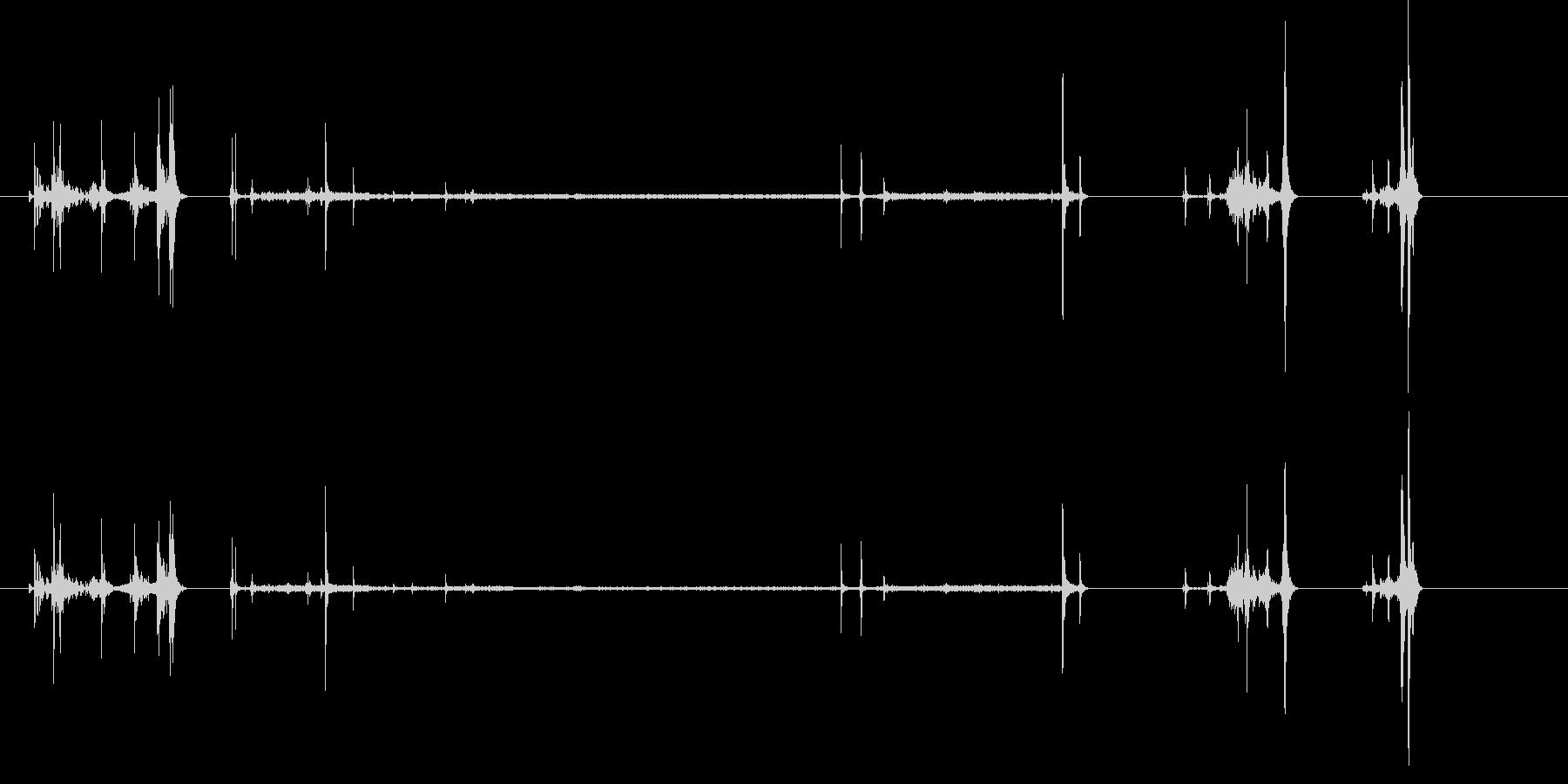ビデオレコーダー;テープイン/オン...の未再生の波形