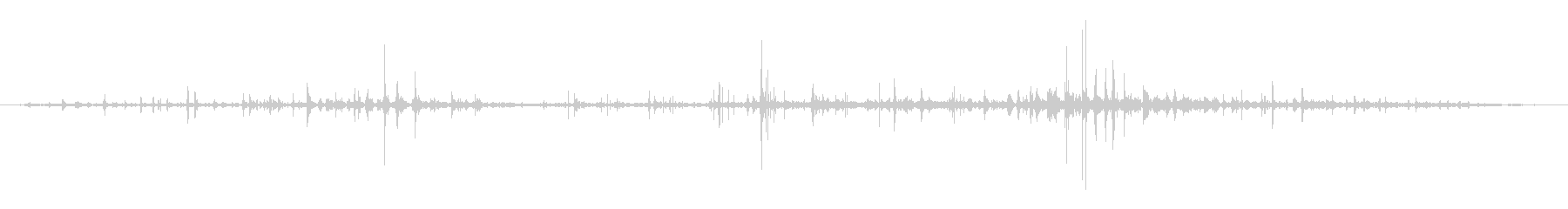 ハードダートホース:ギャロップアッ...の未再生の波形