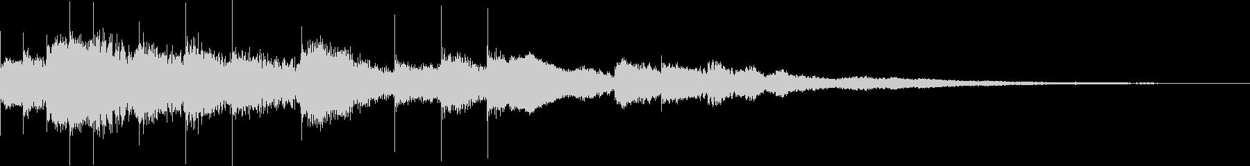サウンドロゴ マレット系の未再生の波形