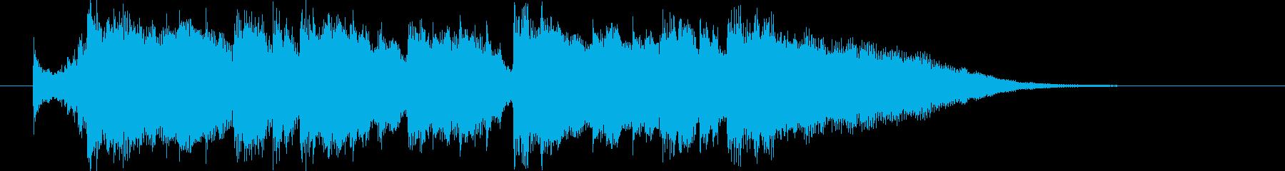 重厚で壮大な始まりの音楽の再生済みの波形