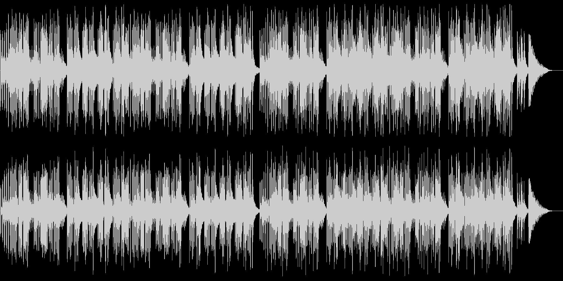 キュートでほのぼのした楽曲A:フル版の未再生の波形