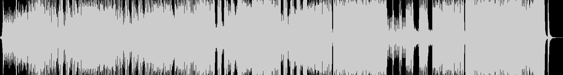 死闘・オーケストラ・後半からロックに展開の未再生の波形