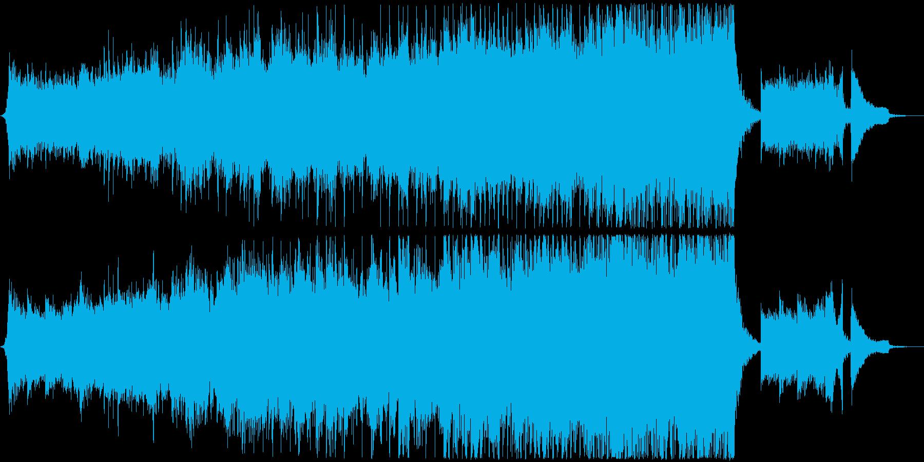 月光のようなピアノの壮大シネマティックの再生済みの波形