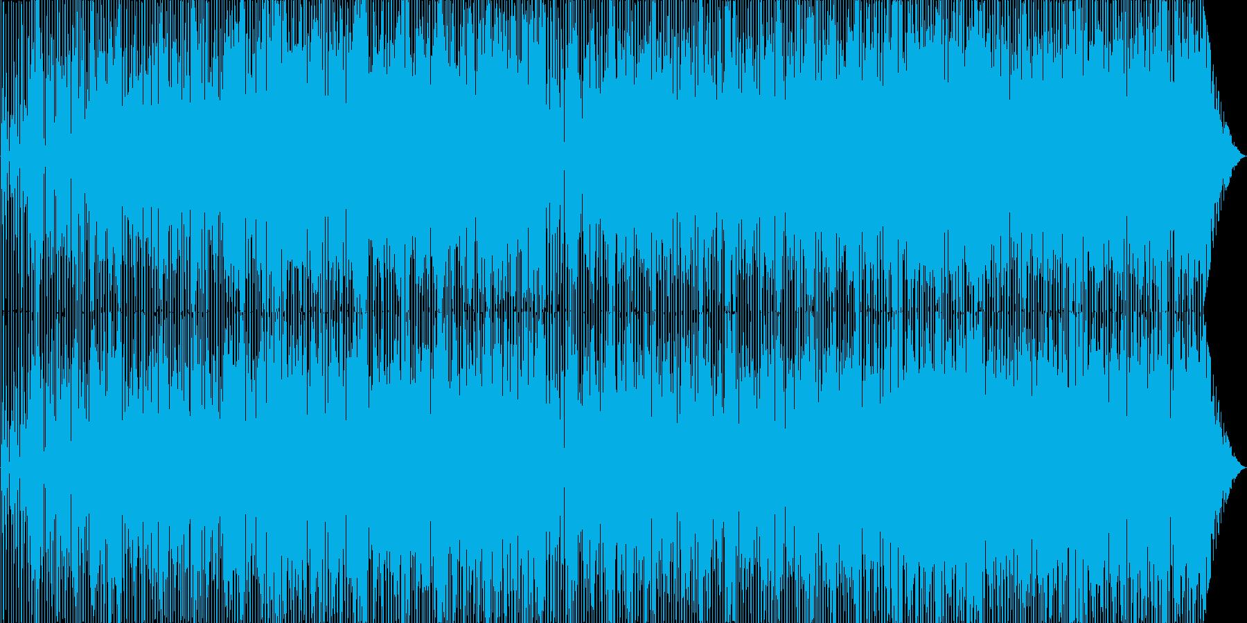 ヒップホップ風のスムースジャズの再生済みの波形