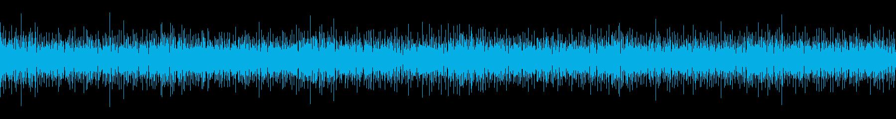 ピチピチ弾けるような個性的で民族的な木琴の再生済みの波形