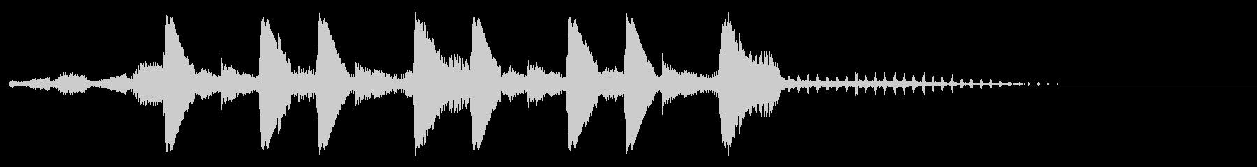 【ジングル】ダブステップ BPM128の未再生の波形