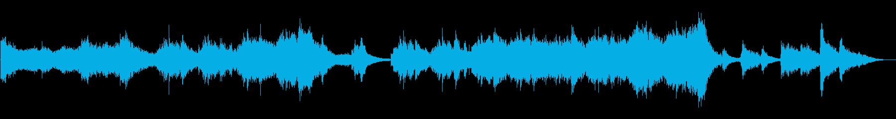 怖い話・怪談・ホラー用BGM/怪談01の再生済みの波形