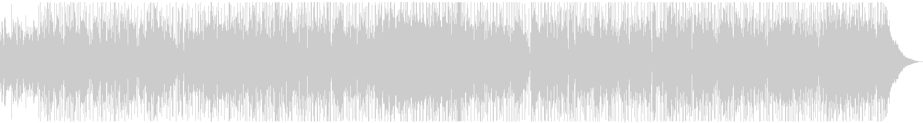 サックスの深夜帯CM風ロックの未再生の波形