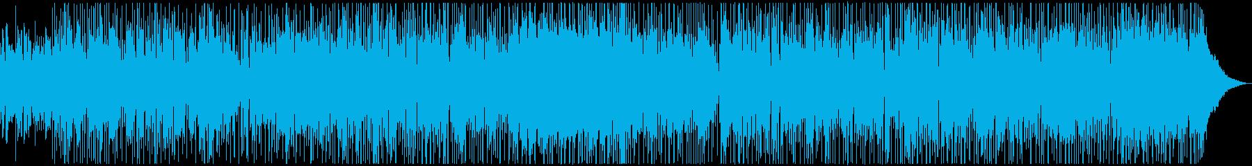 サックスの深夜帯CM風ロックの再生済みの波形