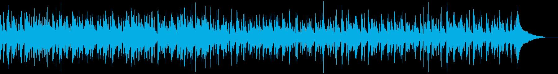 ピアノとビブラフォンがメインのゆるいボサの再生済みの波形