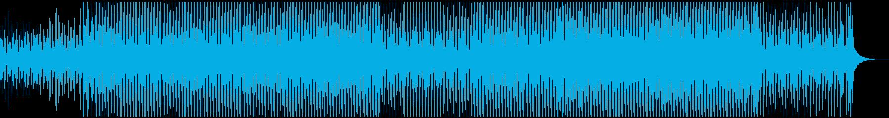 幸せで晴れの再生済みの波形