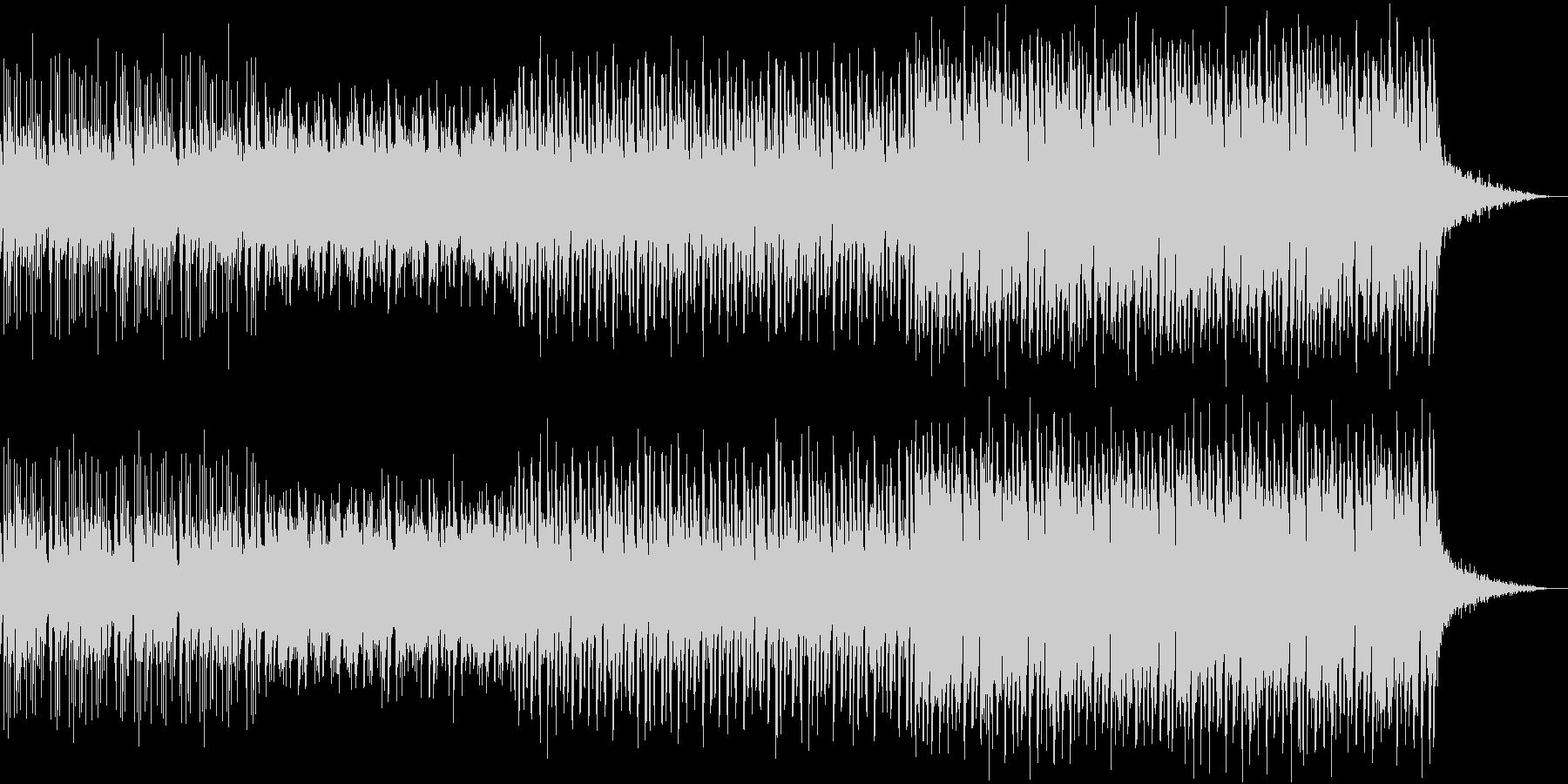 攻撃的なユーロビート、トランス曲の未再生の波形