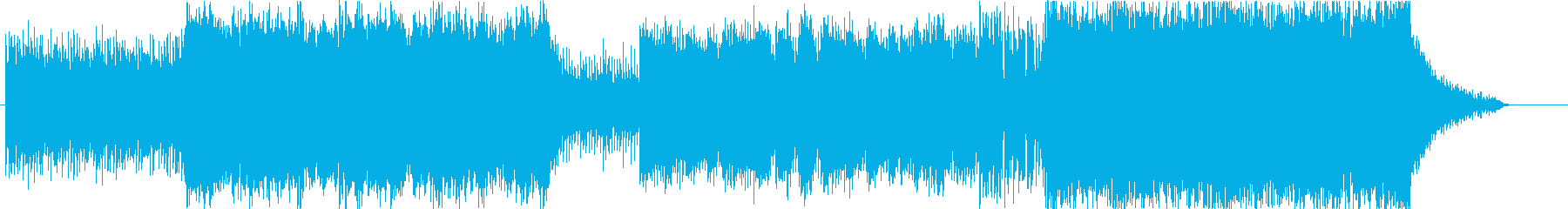 爽やかシネマロック/メインテーマの再生済みの波形