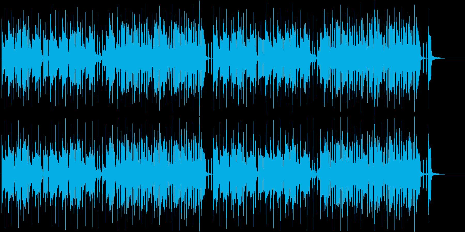 わくわく感溢れる明るいポップミュージックの再生済みの波形