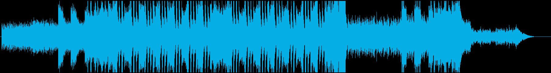 脱出シーンの再生済みの波形