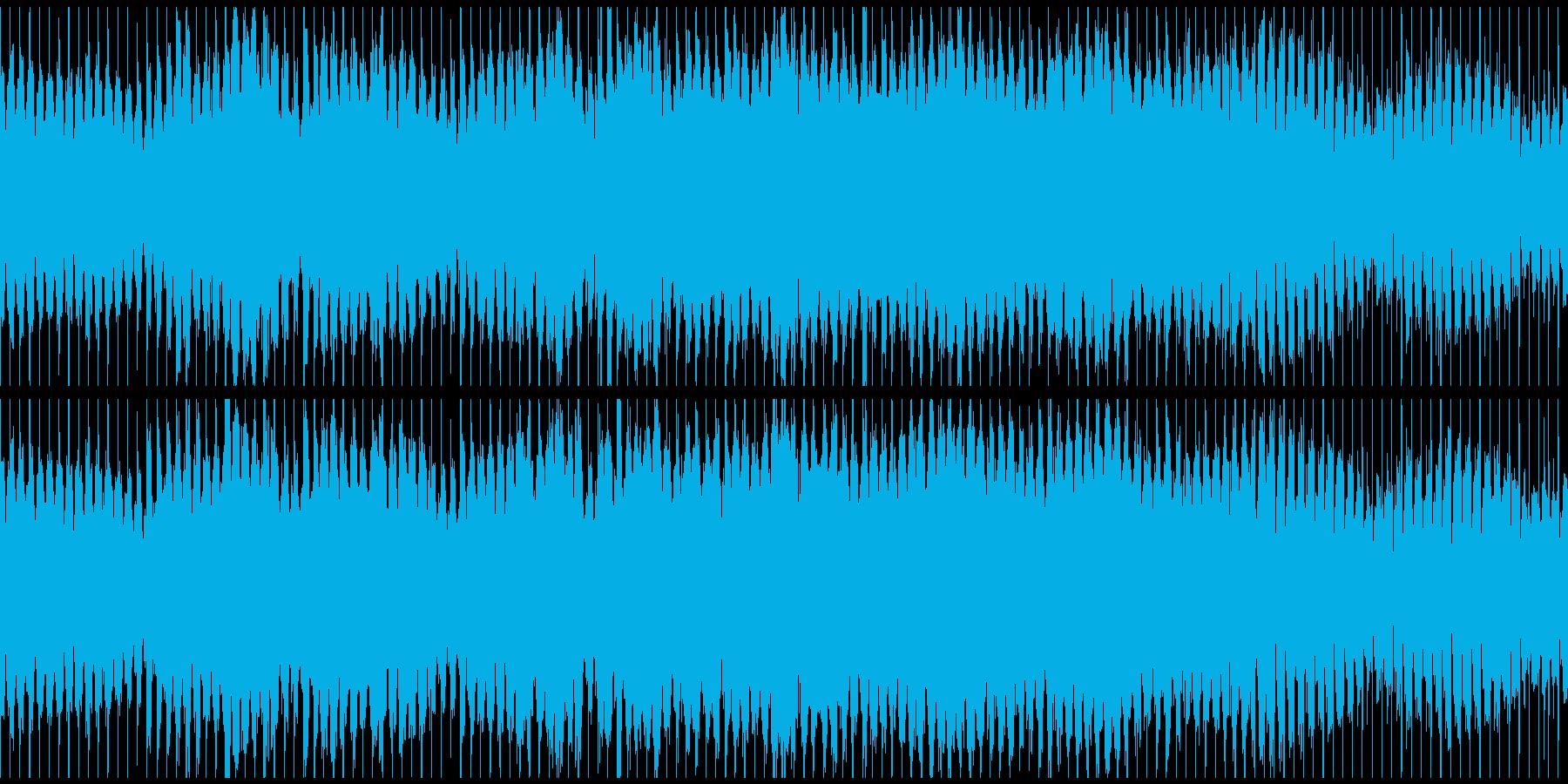 ノリノリな和風テクノ篠笛 ※ループ仕様版の再生済みの波形
