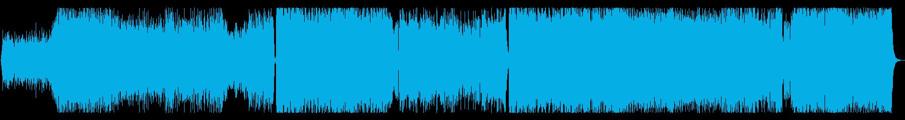 ハレルヤ・ネットワークの再生済みの波形