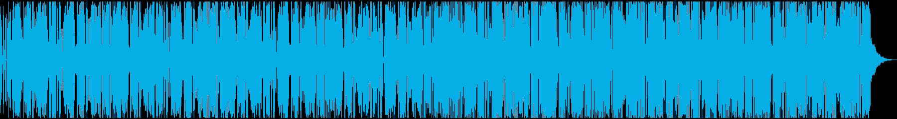 不気味だが 小刻みリズムが気持ちいい音楽の再生済みの波形