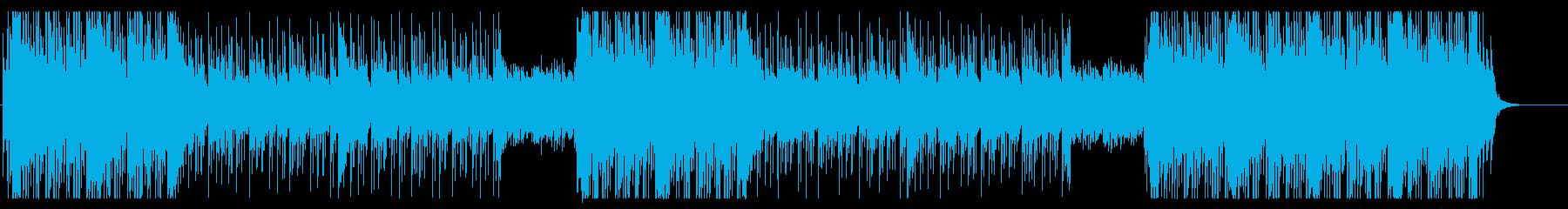 洋楽オシャレ系Future Bass の再生済みの波形