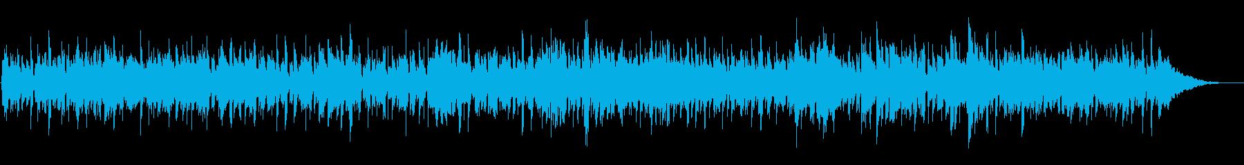 脈打つブルースのリフ、恐ろしいコン...の再生済みの波形