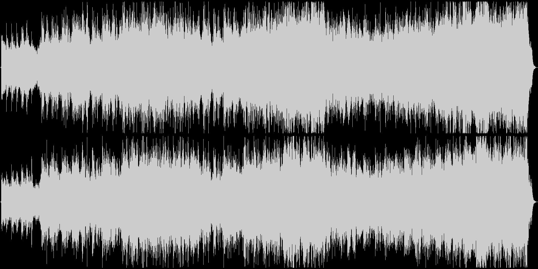 現代の交響曲 広い 壮大 文字列グ...の未再生の波形