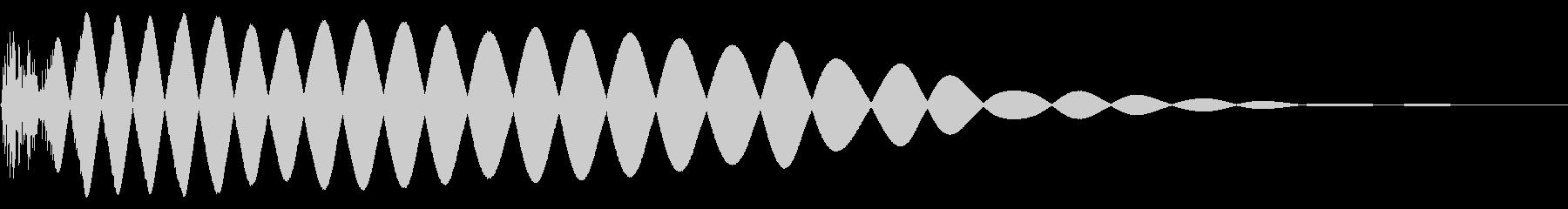 EDMやIDM系のバスドラム!05cの未再生の波形
