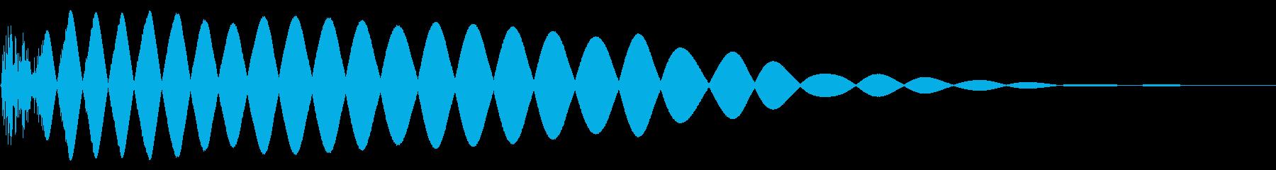 EDMやIDM系のバスドラム!05cの再生済みの波形
