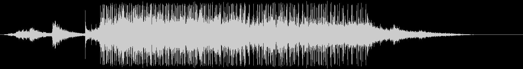ブラインド信号の未再生の波形