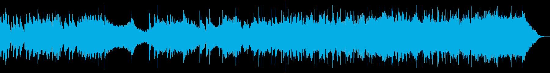 イントロが印象的なピアノ・ストリングスの再生済みの波形
