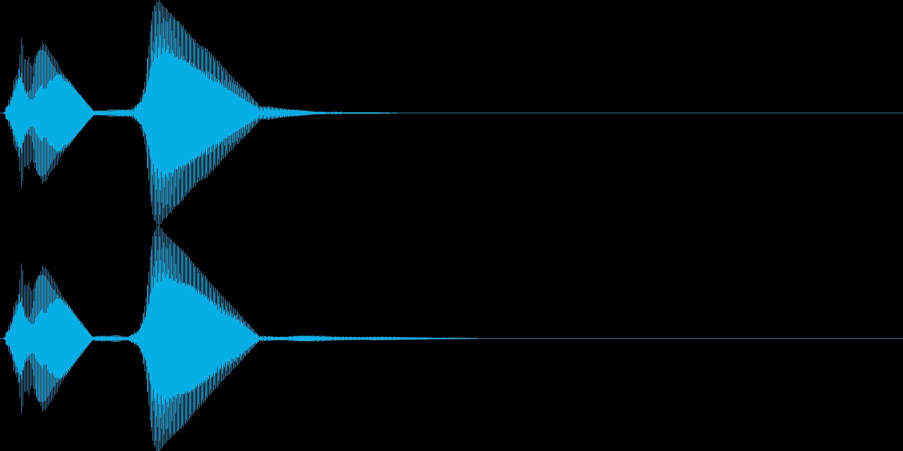 パフ。パフパフラッパA(低・単発)の再生済みの波形