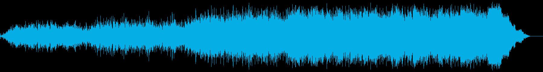 クールなサントラのようなロックの再生済みの波形