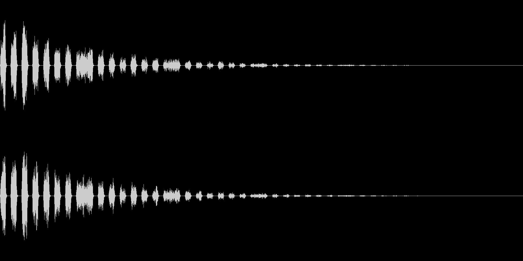 251 爆発(2-3)の未再生の波形