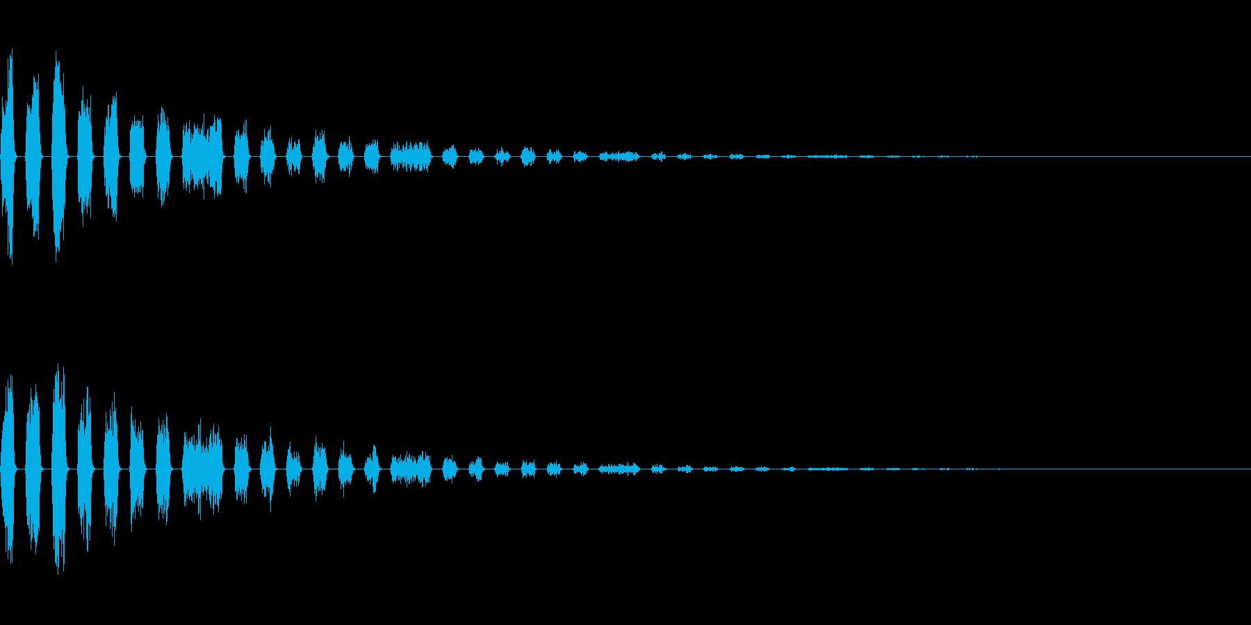 251 爆発(2-3)の再生済みの波形
