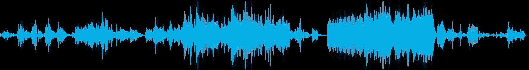コンテンポラリーの再生済みの波形