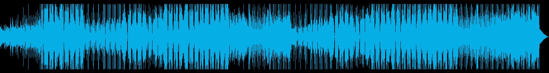 声ネタ使用シンセポップ・エレクトロの再生済みの波形