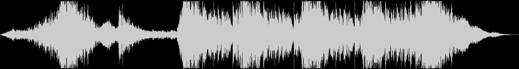 ハリウッド風トレイラー リズム主体08の未再生の波形