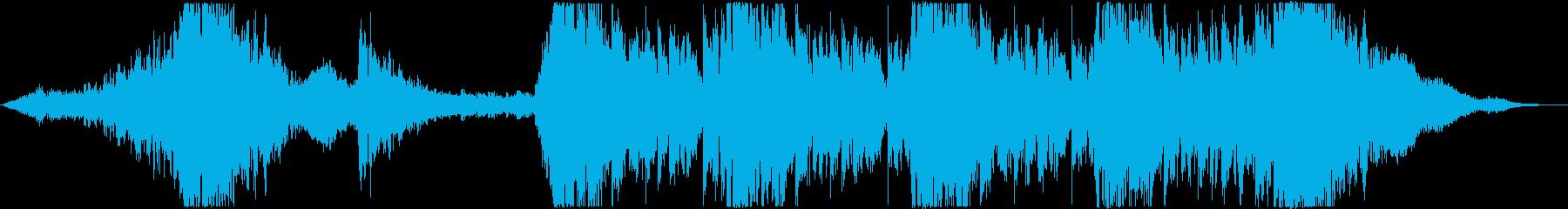 ハリウッド風トレイラー リズム主体08の再生済みの波形