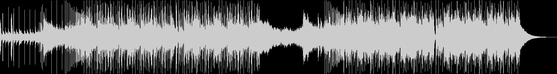 トラップ&バイオリンの未再生の波形