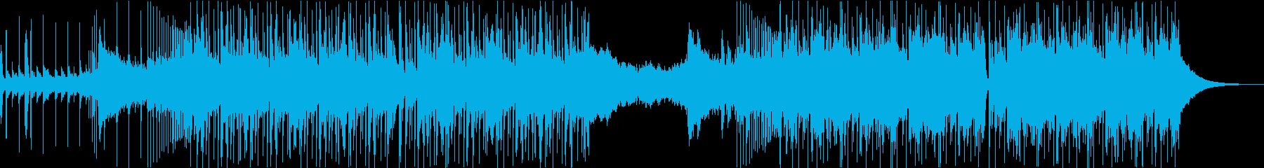トラップ&バイオリンの再生済みの波形