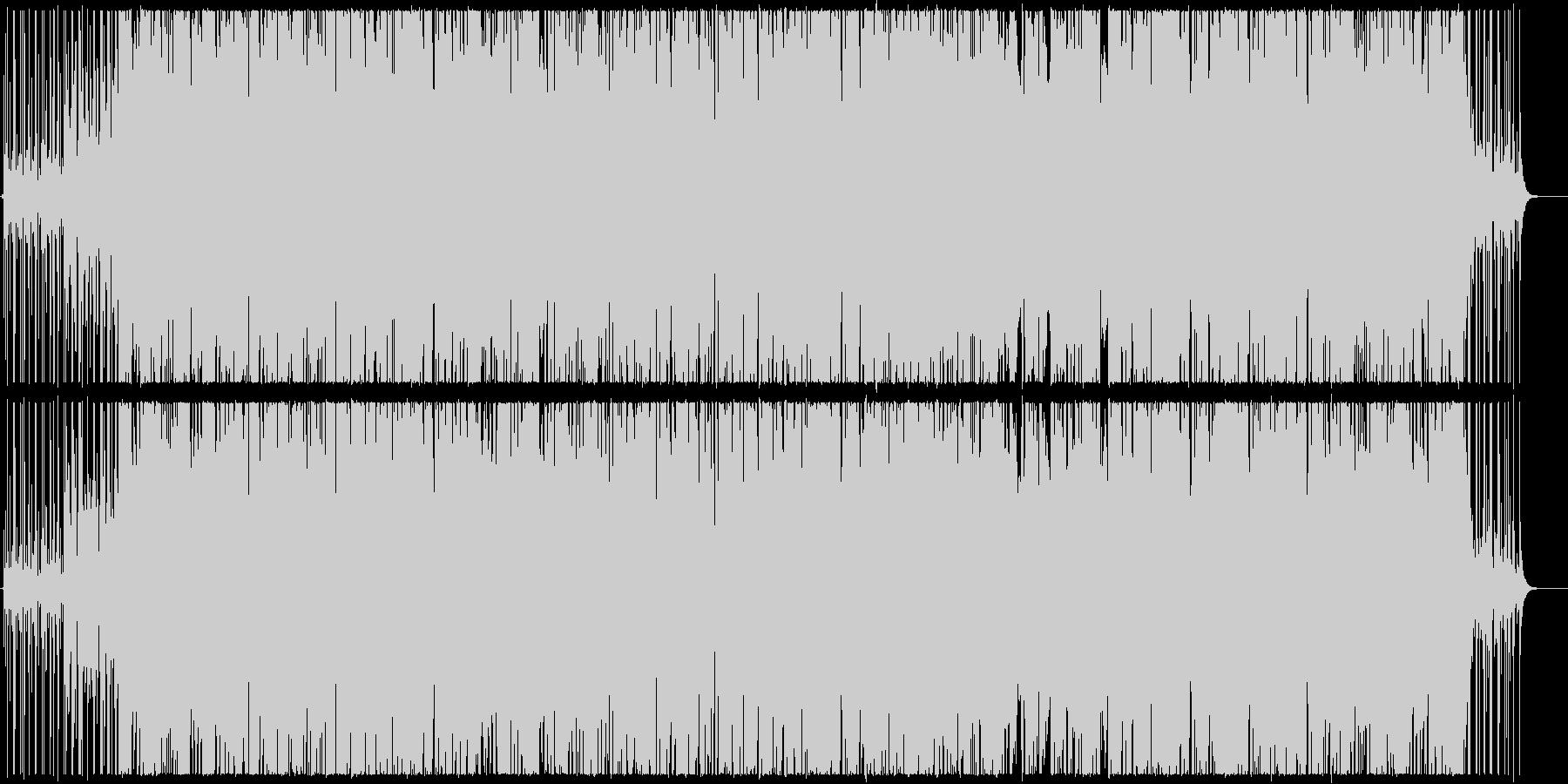 ほのぼのとしたアーバンポップの未再生の波形