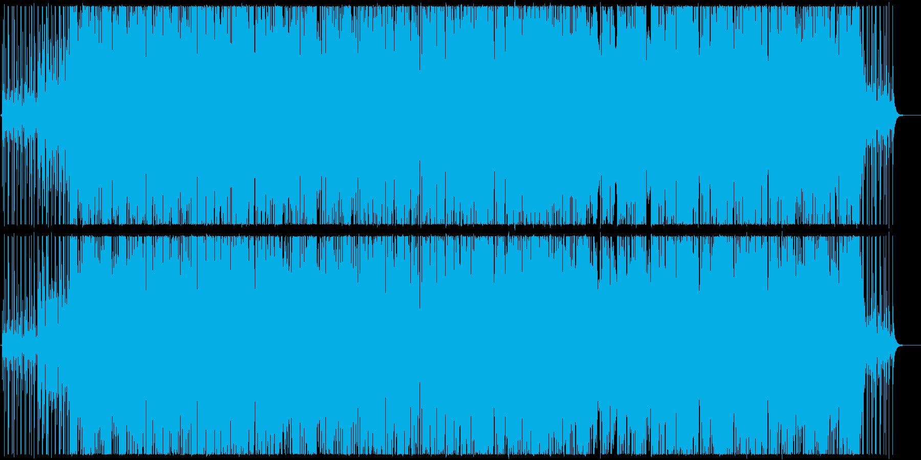 ほのぼのとしたアーバンポップの再生済みの波形
